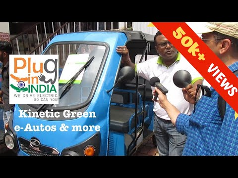 Kinetic Green : India's largest selling e-Auto / e-Rickshaw