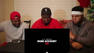 Lil Wayne - Bank Account (Official Audio) - REACTION