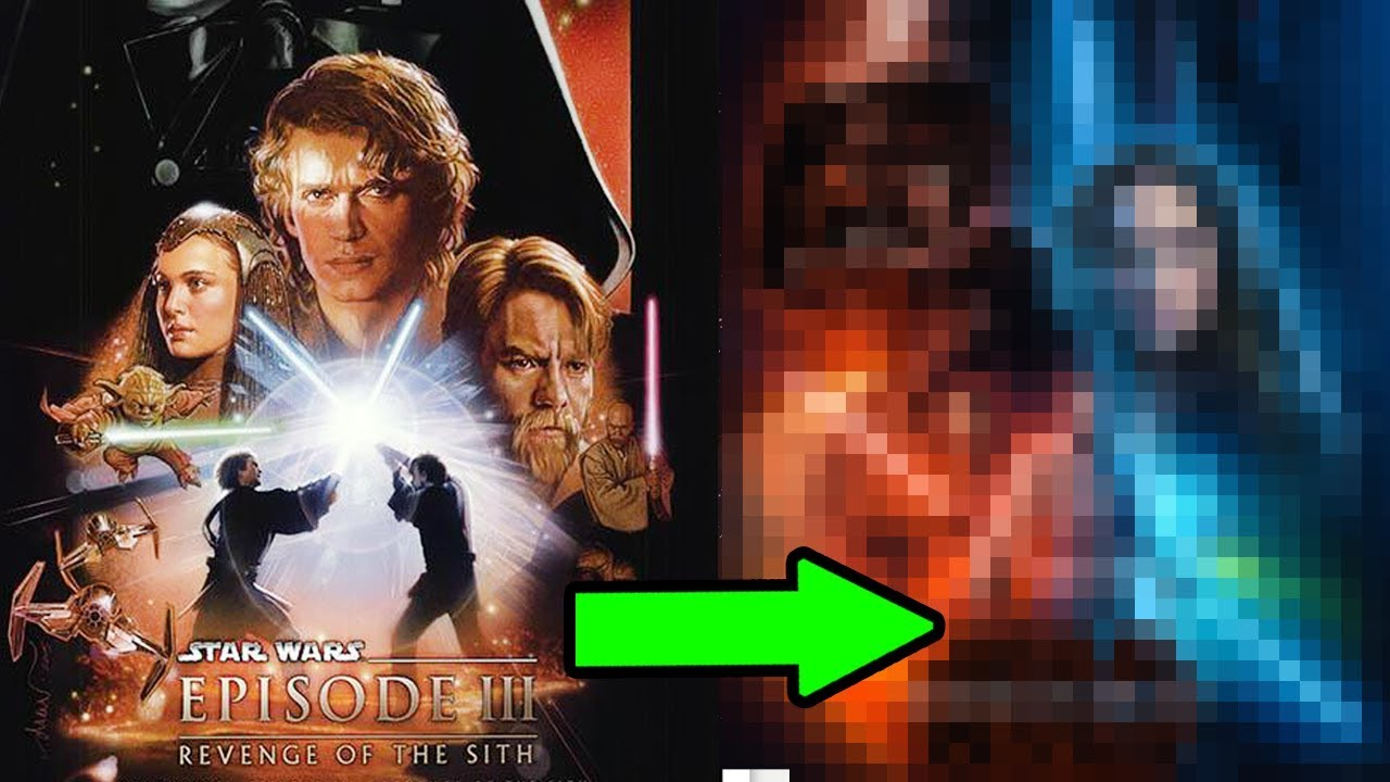 Remaking The Revenge Of The Sith Movie Poster In Photoshop Youtube
