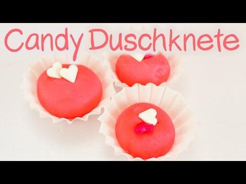 PRALINEN für die DUSCHE | Candy DUSCHKNETE zum verschenken | super einfach | einfaches DIY