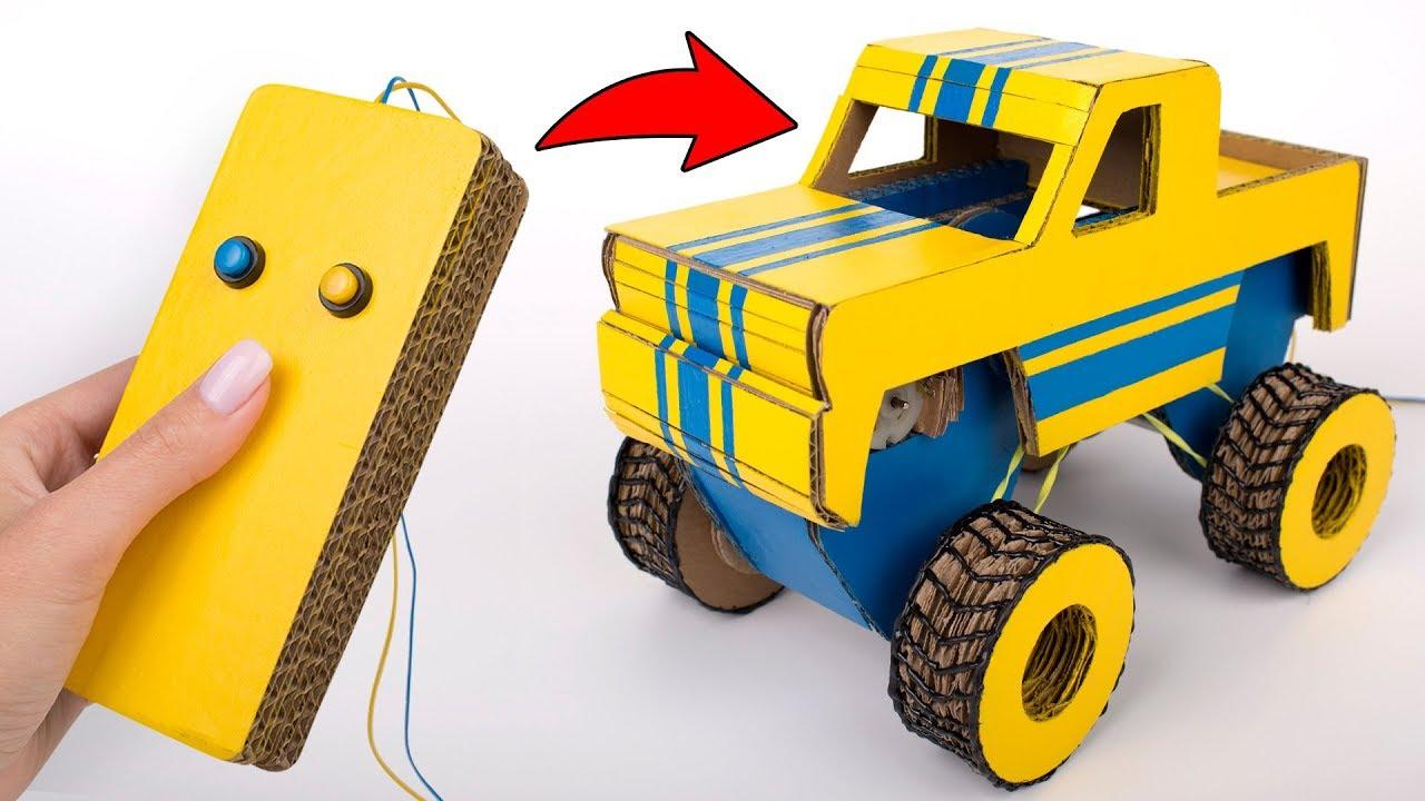 auto aus karton basteln
