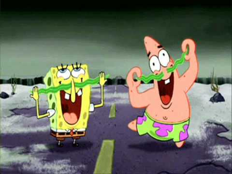 Dynamite by Taio Cruz - Spongebob Squarepants!