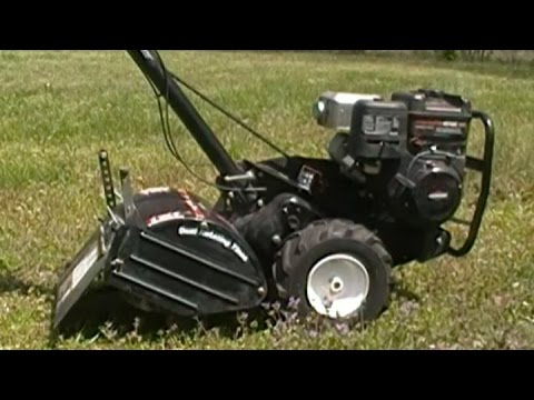 Craftsman Dual Rear Tine Tiller , How it works