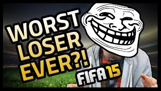 WORST LOSER EVER?! - Fifa 15 Ultimate Team Thumbnail