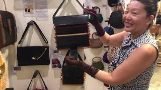 Triple decker Vintage Bags from 1930s!!  - Museum of Vintage Bags