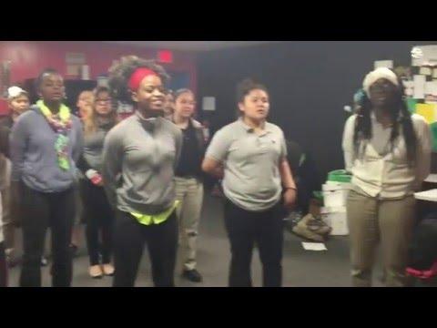 "KIPP Houston High School Choir Sings ""Silent Night"" in Yoruba/English (Pentatonix Inspired)"