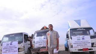 Distribusjon av vann i Jemen