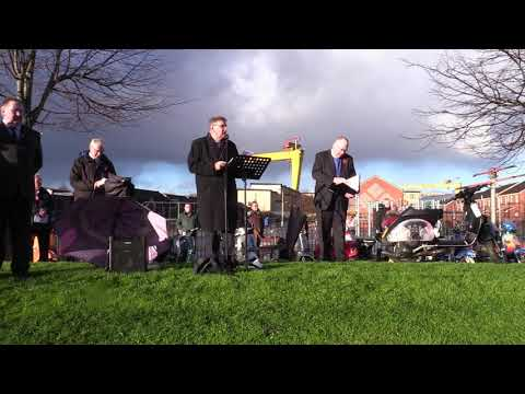 Row on Row Opening, East Belfast Remembers