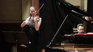 Svenja Staats and Aram Arakelyan - Violin Sonata in A Major, César Franck, 2nd movement
