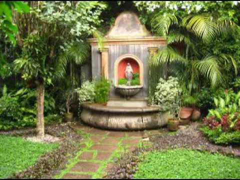 Beneficios de tener una fuente de agua en el jardin youtube for Fuentes de jardin