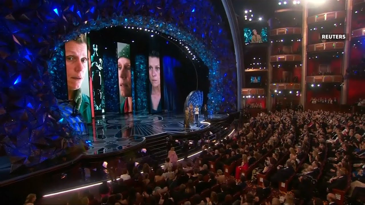 Oscars praise diversity as 'Shape of Water' wins big