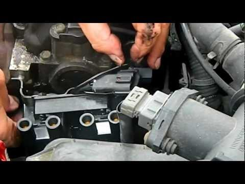 1999 hyundai accent ignition coil change pt 1 youtube