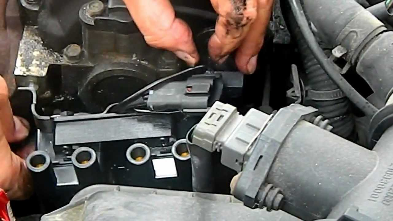 1999 hyundai accent ignition coil change pt 1 doovi. Black Bedroom Furniture Sets. Home Design Ideas