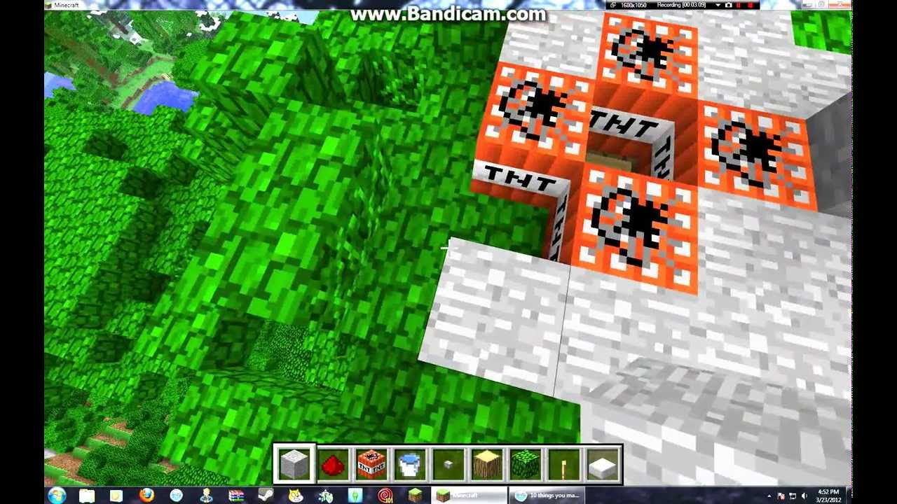 how to make a rocket ship in minecraft pe