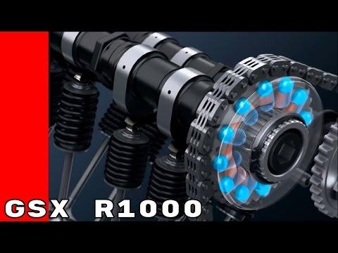 2017 Suzuki GSX R1000 Racing Variable Valve Timing System