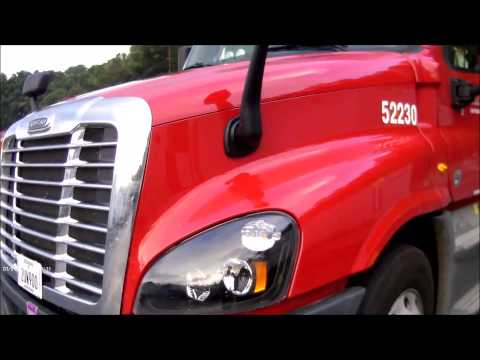 My New Truck at US Xpress 2015 Freightliner : Adventures in Trucking Series