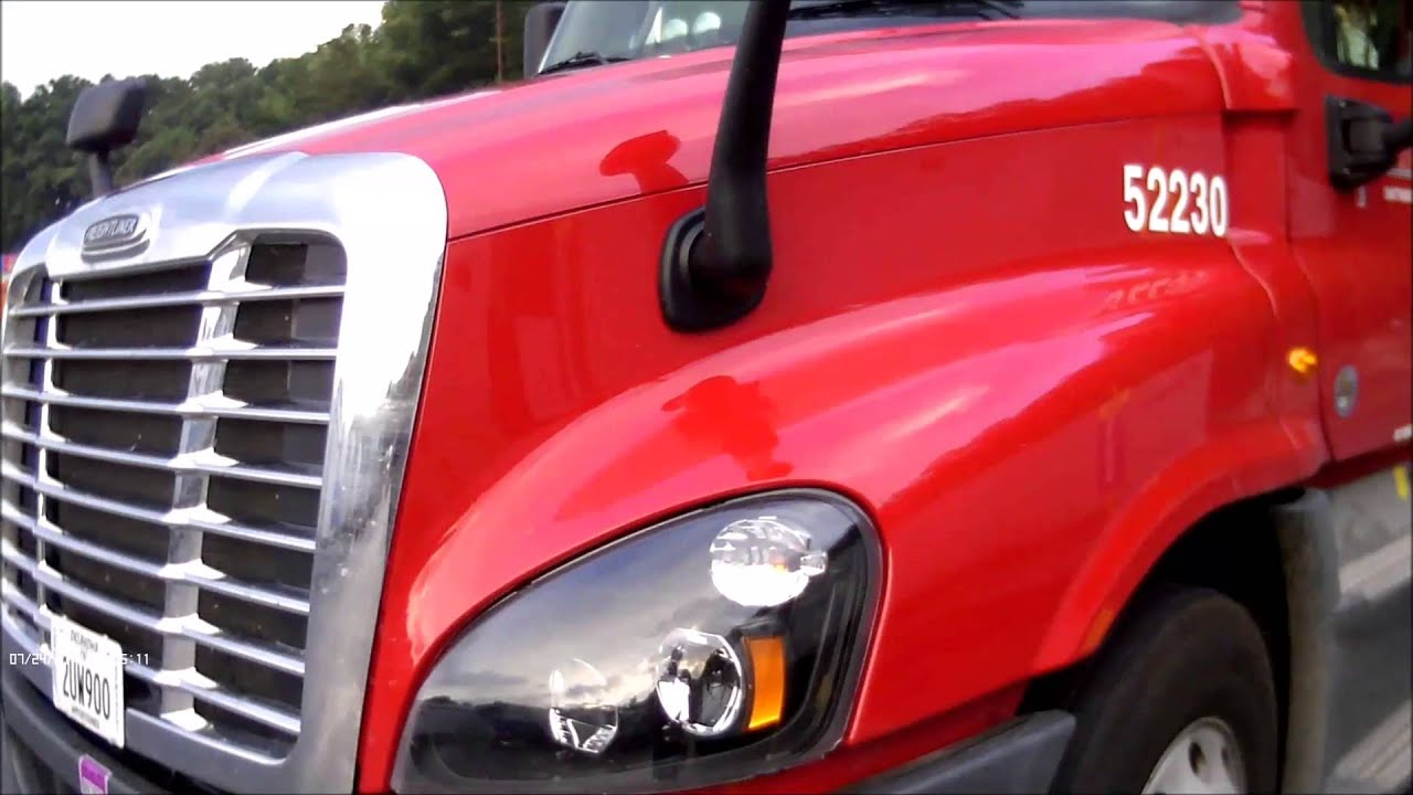 2015 Freightliner Cascadia >> My New Truck at US Xpress 2015 Freightliner : Adventures ...