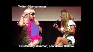 Estelita con Marina Calabró
