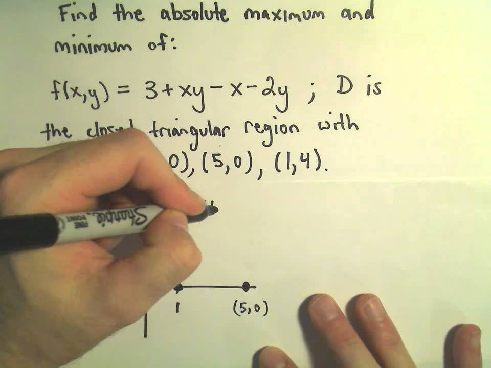 Absolute Maximum/Minimum Values of Multivariable Functions - Part 1 ...