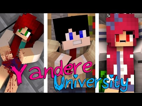 Murder, Betrayal & Mystery | Yandere University [S1: Movie Minecraft Roleplay Adventure]