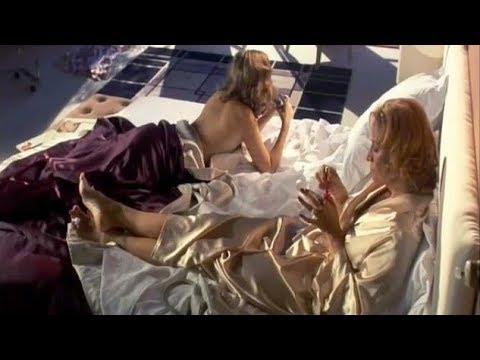 Vintage Pink & Gold Silk Satin Robes - Geraldine Sommerville & Janet McTeer