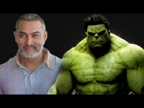 Dangal Movie Aamir Khan Auditioning To Play The Hulk Youtube
