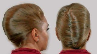 Женская Прическа Ракушка Своими Руками Видео 2013 года French twist hairstyle tutorial(Прическа ракушка (иногда ее называют прическа банан, французский пучок или прическа улитка) - классическая..., 2013-06-02T06:36:30.000Z)