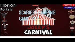 The scariest Roblox Camping Game yet!| Jolly's Carnival