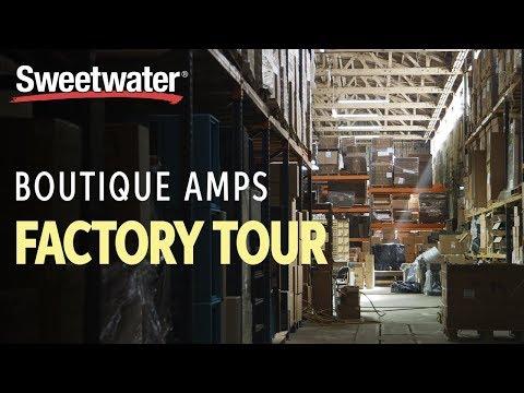 Boutique Amps Factory Tour