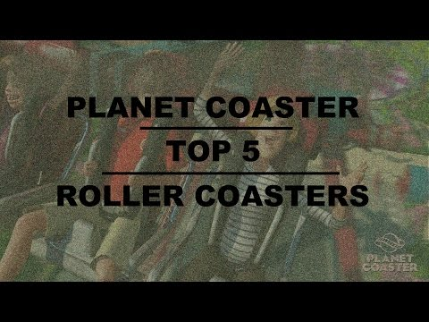 Planet Coaster - TOP 5 Best Themed Roller Coasters