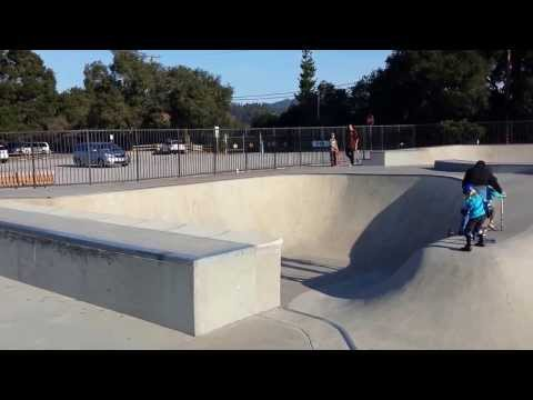 Tour of Scotts Valley Skatepark
