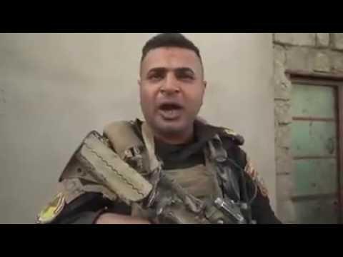 بالفيديو.. حرب شوارع في حي الزهراء بالموصل