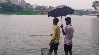 Best Fishing Video   Fishing With Hook   Catching Fish in Rain (Part-12)