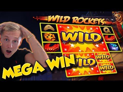 BIG WIN!!! Wild Rockets BIG WIN - Casino Games - free spins (gambling) - 동영상