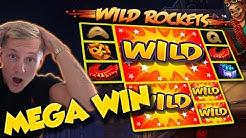 BIG WIN!!! Wild Rockets BIG WIN - Casino Games - free spins (gambling)