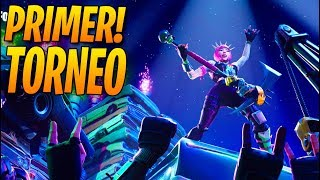 PRIMER TORNEO de Fortnite: Battle Royale Oficial!