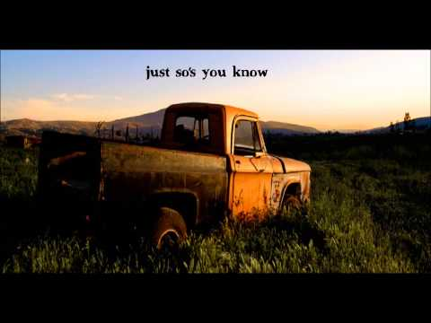 Kings of Leon - Pickup truck - lyrics video