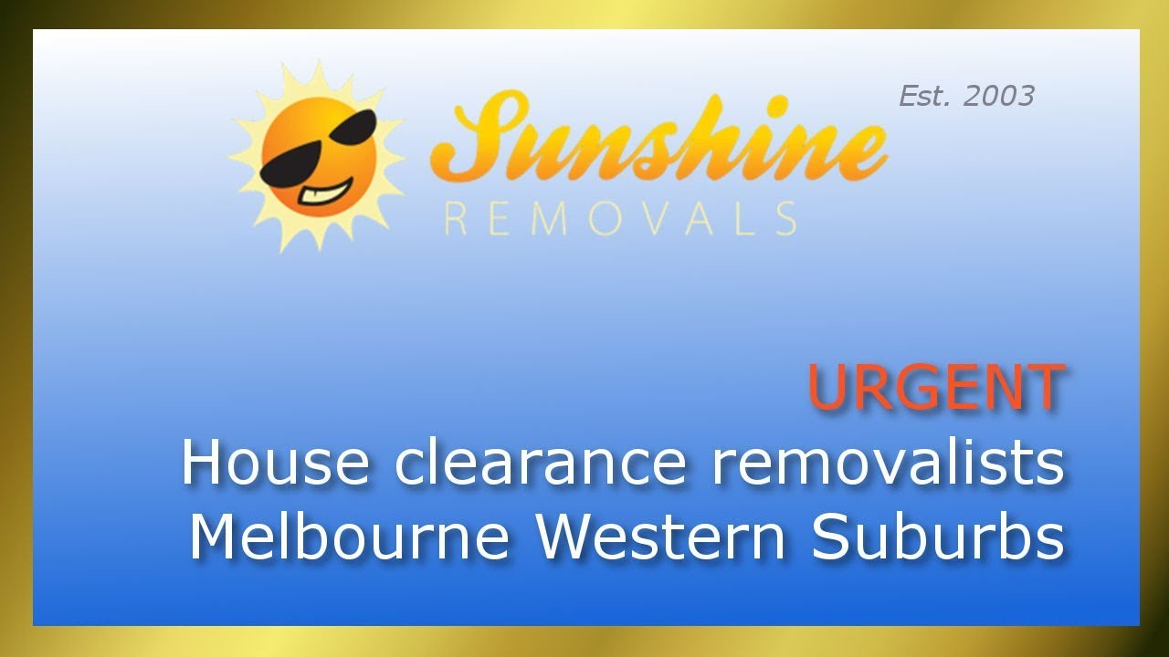 Urgently Needed House Clearance Removalists Melbourne Western Suburbs And  What Furniture Movers Face