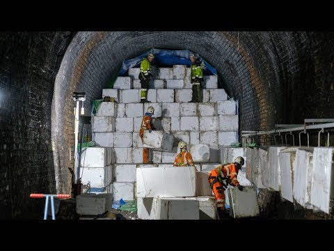 Disused tunnel at Forth Road Bridge made safe