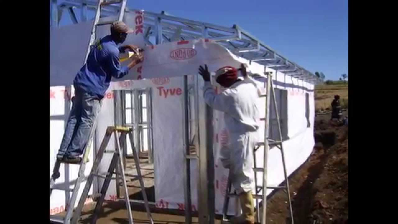 Light Steel Frame Building South Africa Kzn Project Part