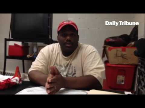 Mount Clemens High School football coach Harold Penn
