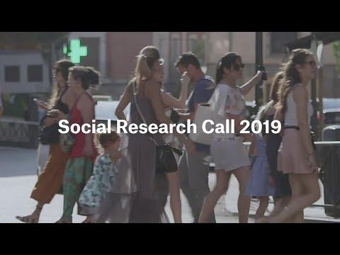 """""""la Caixa"""" Social Research Call"""