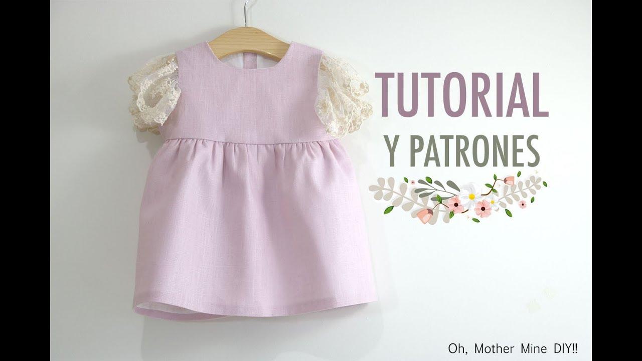 Costura: Vestido de ceremonia para niñas (patrones gratis hasta 8 ...