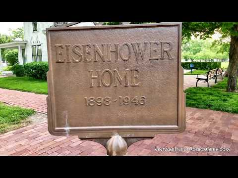 Pres. Dwight D. Eisenhower - Abilene, Kansas