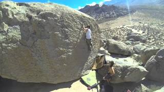 High Ball Bouldering in Bishop, California GoPro Hero 3 HD