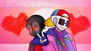 La caída En el Amor~♥ 【Fresco Error x = Frerror | Undertale AU | No Animado Meme】