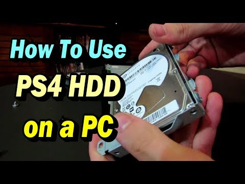 How to Use A PS4 Hard Drive on a PC