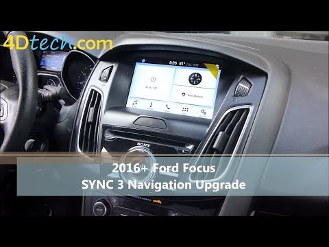Add Factory Navigation to SYNC 3 | 2016 - 2017 Ford Focus