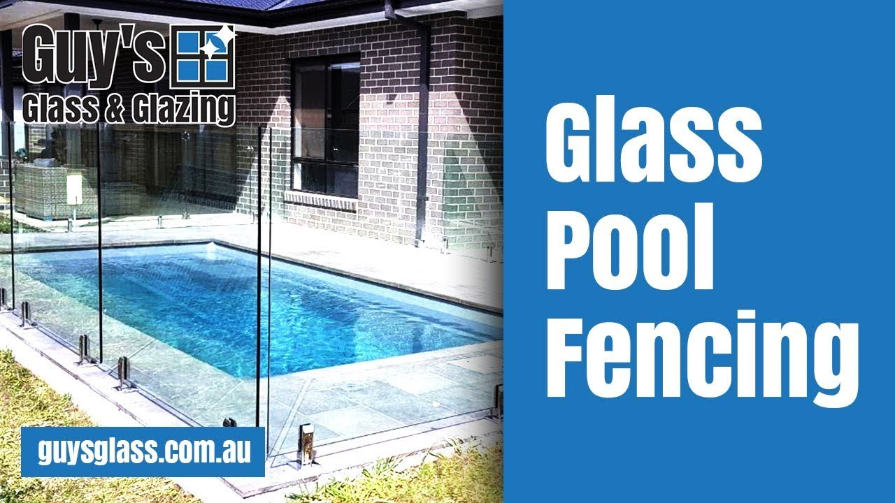 Install Of Glass Pool Fence In Traralgon Youtube