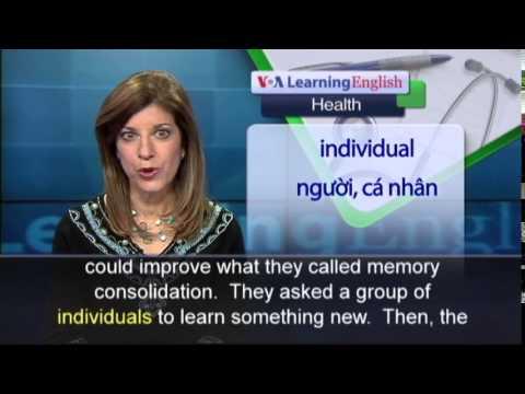 Phát âm chuẩn cùng VOA - Anh ngữ đặc biệt: Caffeine Memory (VOA-Health Rep)